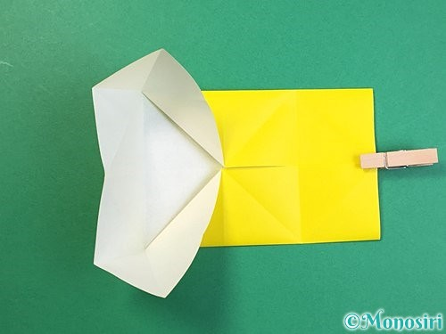 折り紙で立体的なキリンの折り方手順55