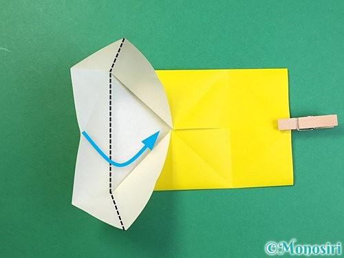 折り紙で立体的なキリンの折り方手順56