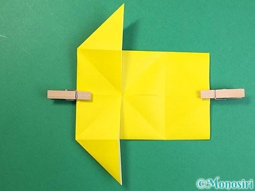 折り紙で立体的なキリンの折り方手順57