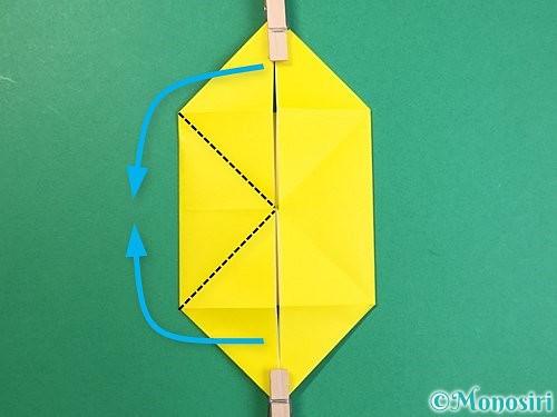 折り紙で立体的なキリンの折り方手順59