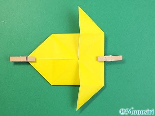 折り紙で立体的なキリンの折り方手順60