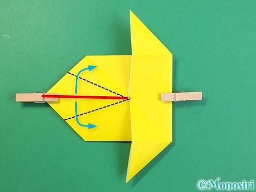 折り紙で立体的なキリンの折り方手順61