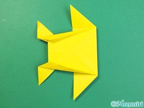 折り紙で立体的なキリンの折り方手順65