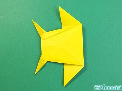 折り紙で立体的なキリンの折り方手順67