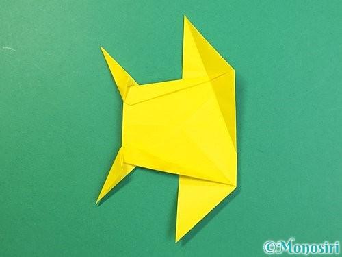 折り紙で立体的なキリンの折り方手順69