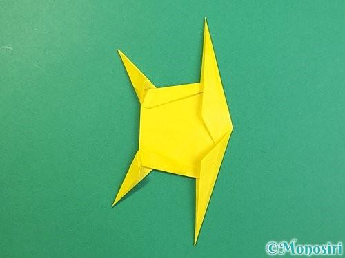 折り紙で立体的なキリンの折り方手順74