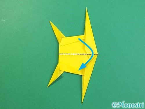 折り紙で立体的なキリンの折り方手順75