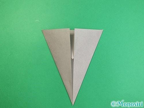 折り紙で象の顔の折り方手順8