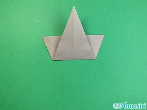 折り紙で象の顔の折り方手順10