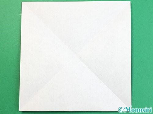 折り紙で立体的な象の折り方手順2