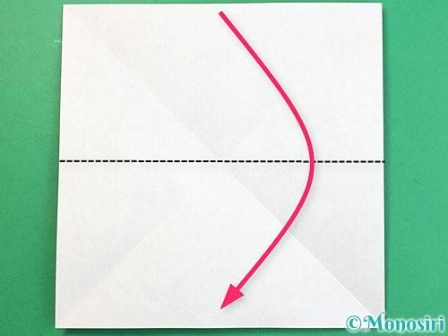 折り紙で立体的な象の折り方手順3