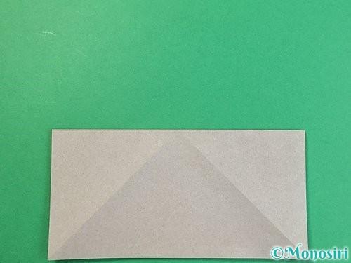 折り紙で立体的な象の折り方手順4