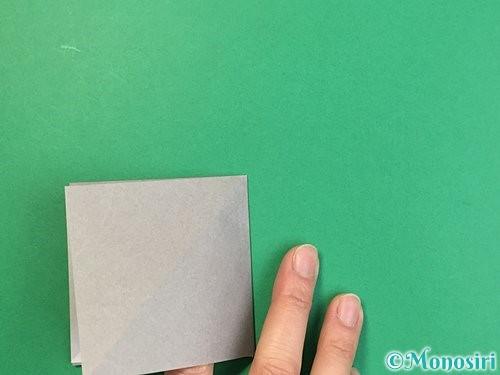 折り紙で立体的な象の折り方手順7