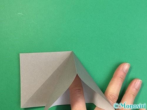 折り紙で立体的な象の折り方手順8