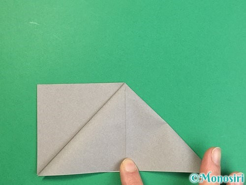 折り紙で立体的な象の折り方手順9