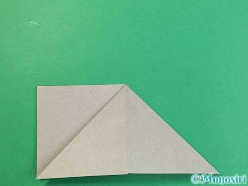 折り紙で立体的な象の折り方手順10