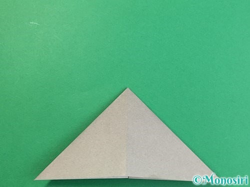 折り紙で立体的な象の折り方手順11