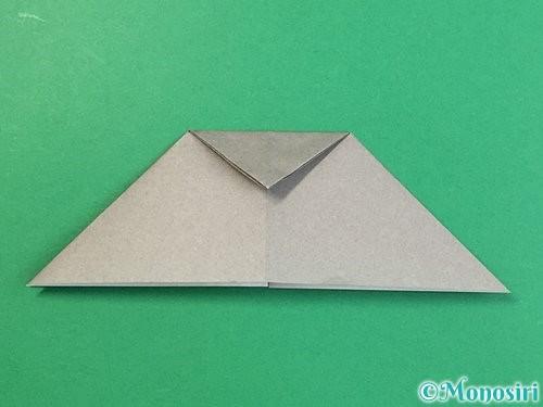 折り紙で立体的な象の折り方手順13