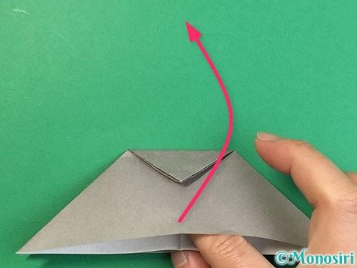 折り紙で立体的な象の折り方手順14