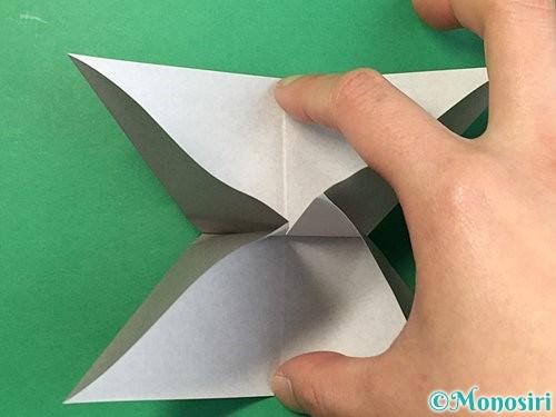 折り紙で立体的な象の折り方手順15