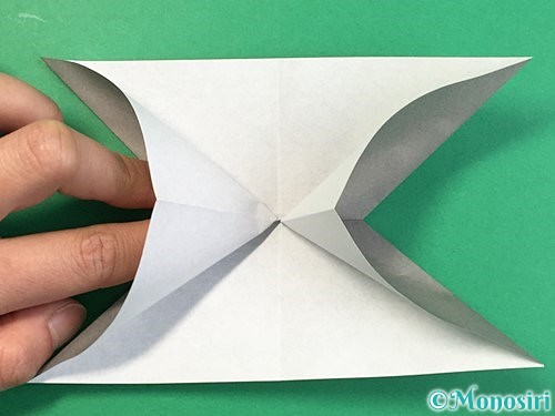 折り紙で立体的な象の折り方手順16
