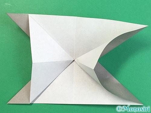 折り紙で立体的な象の折り方手順17