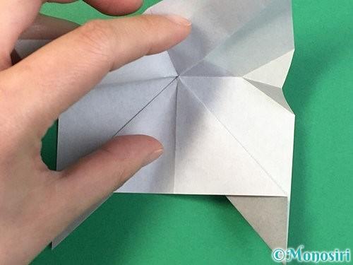 折り紙で立体的な象の折り方手順25