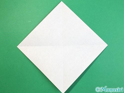 折り紙で立体的な象の折り方手順28