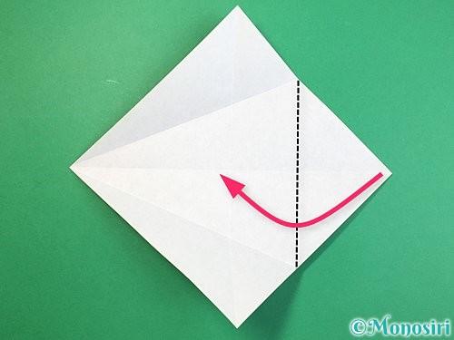 折り紙で立体的な象の折り方手順31