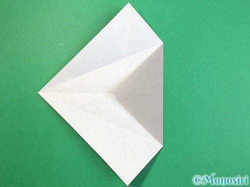 折り紙で立体的な象の折り方手順32