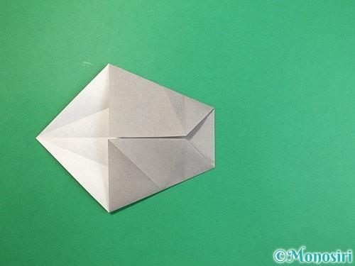 折り紙で立体的な象の折り方手順34