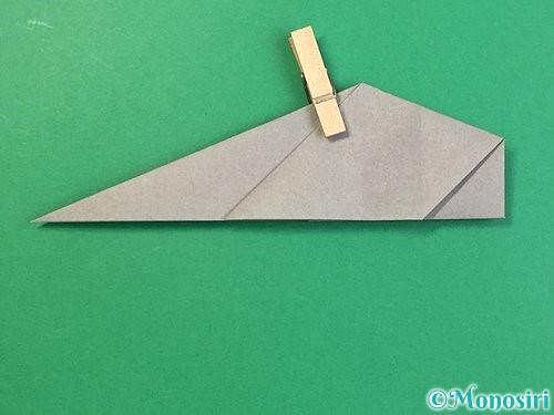 折り紙で立体的な象の折り方手順42