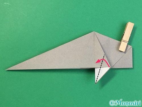 折り紙で立体的な象の折り方手順50