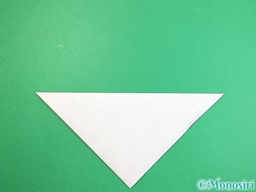 折り紙でパンダの折り方手順2