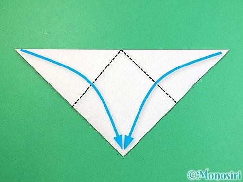 折り紙でパンダの折り方手順3