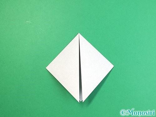 折り紙でパンダの折り方手順4