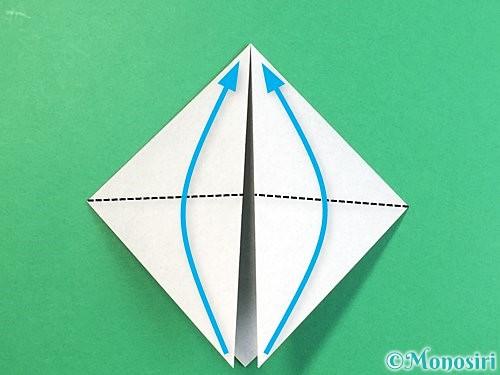 折り紙でパンダの折り方手順5