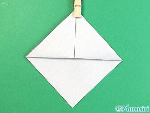 折り紙でパンダの折り方手順6
