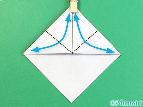 折り紙でパンダの折り方手順7