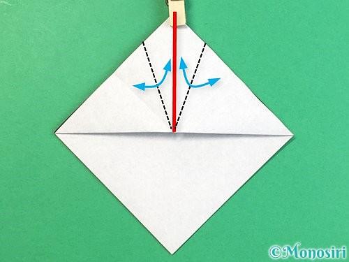 折り紙でパンダの折り方手順9