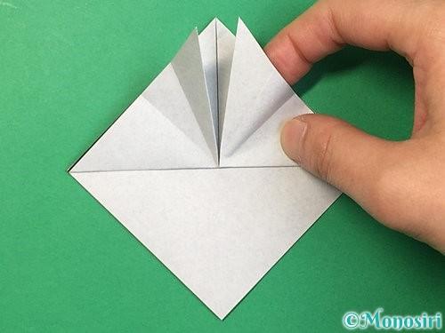 折り紙でパンダの折り方手順11