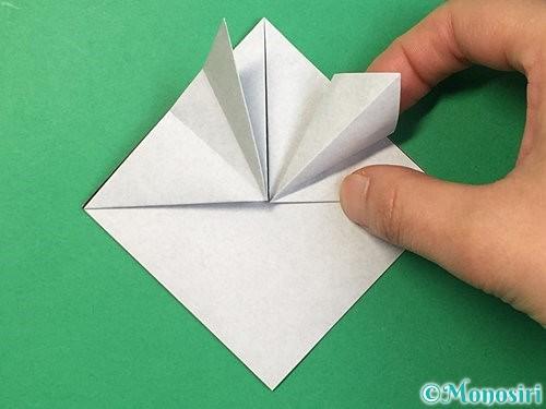 折り紙でパンダの折り方手順12