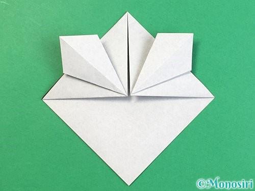 折り紙でパンダの折り方手順14