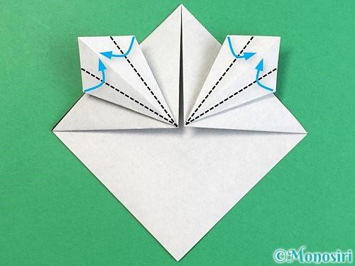 折り紙でパンダの折り方手順15