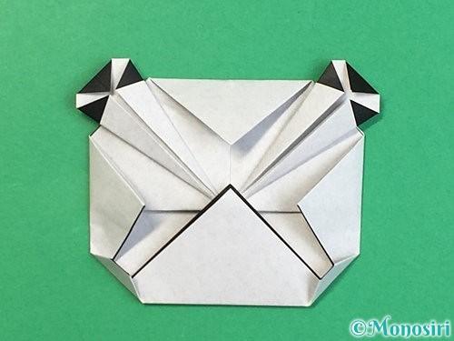 折り紙でパンダの折り方手順20