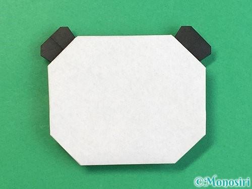 折り紙でパンダの折り方手順21