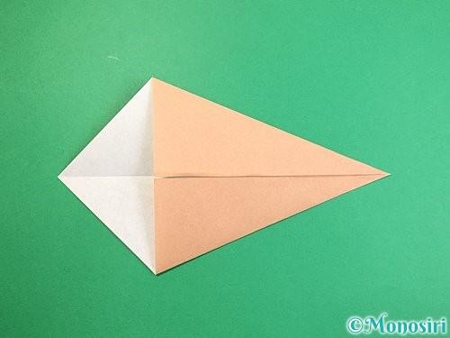 折り紙でライオンの折り方手順4