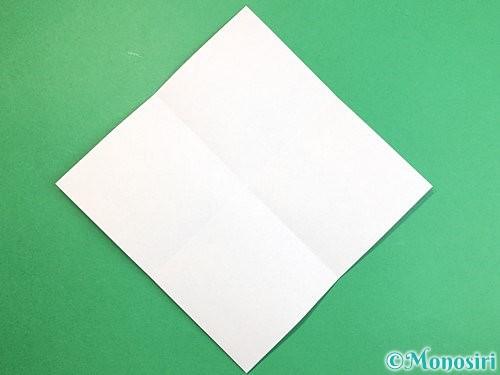 折り紙で魚の折り方手順2
