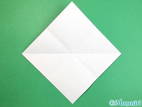 折り紙で魚の折り方手順4