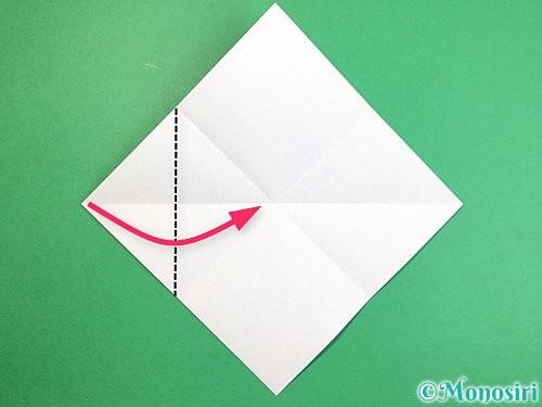 折り紙で魚の折り方手順5